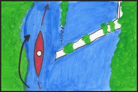 Jez U Rybů Boršov nad Vltavou