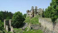 Romantická zřícenina hradu Dívčí kámen