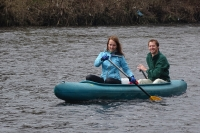 Jaké bylo letošní odemykání řeky?